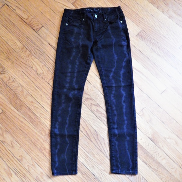 863d41640c8 American Eagle Outfitters Jeans | American Eagle Skinny Black Bleach ...